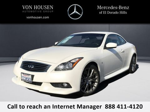 Pre-Owned 2015 INFINITI Q60 Convertible IPL