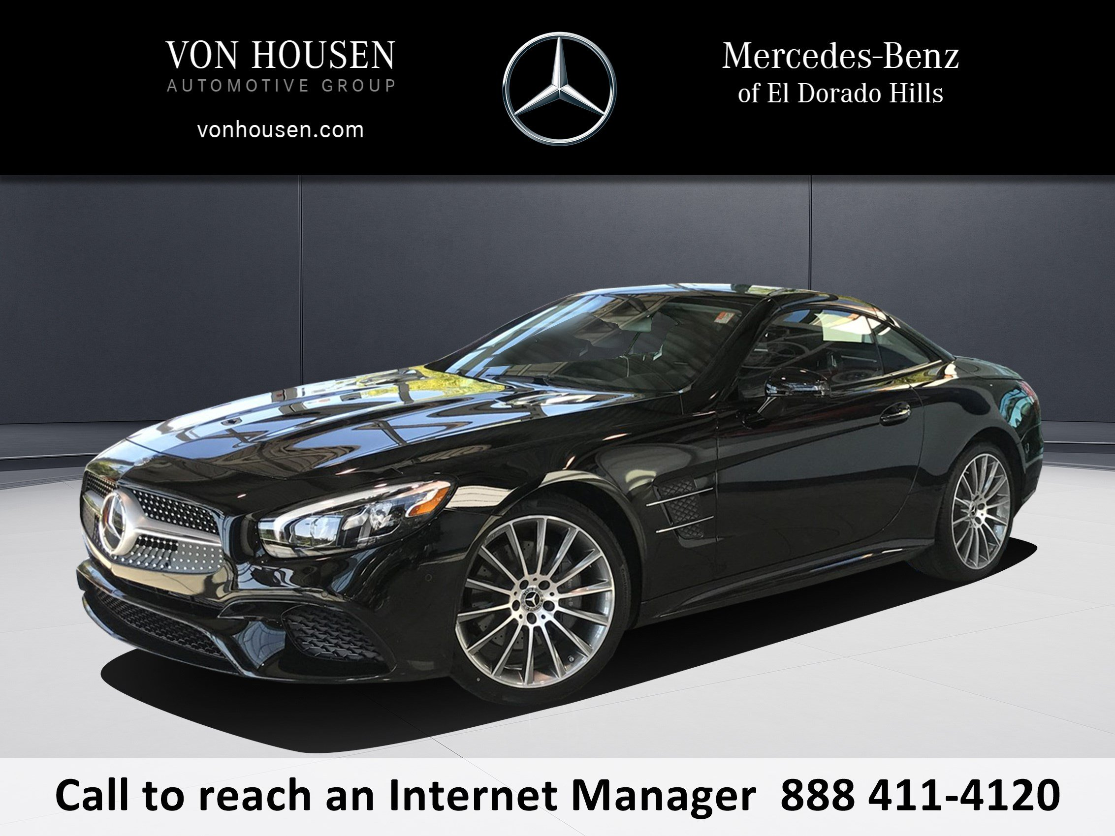 New 2018 Mercedes Benz SL SL 550 ROADSTER in El Dorado Hills E