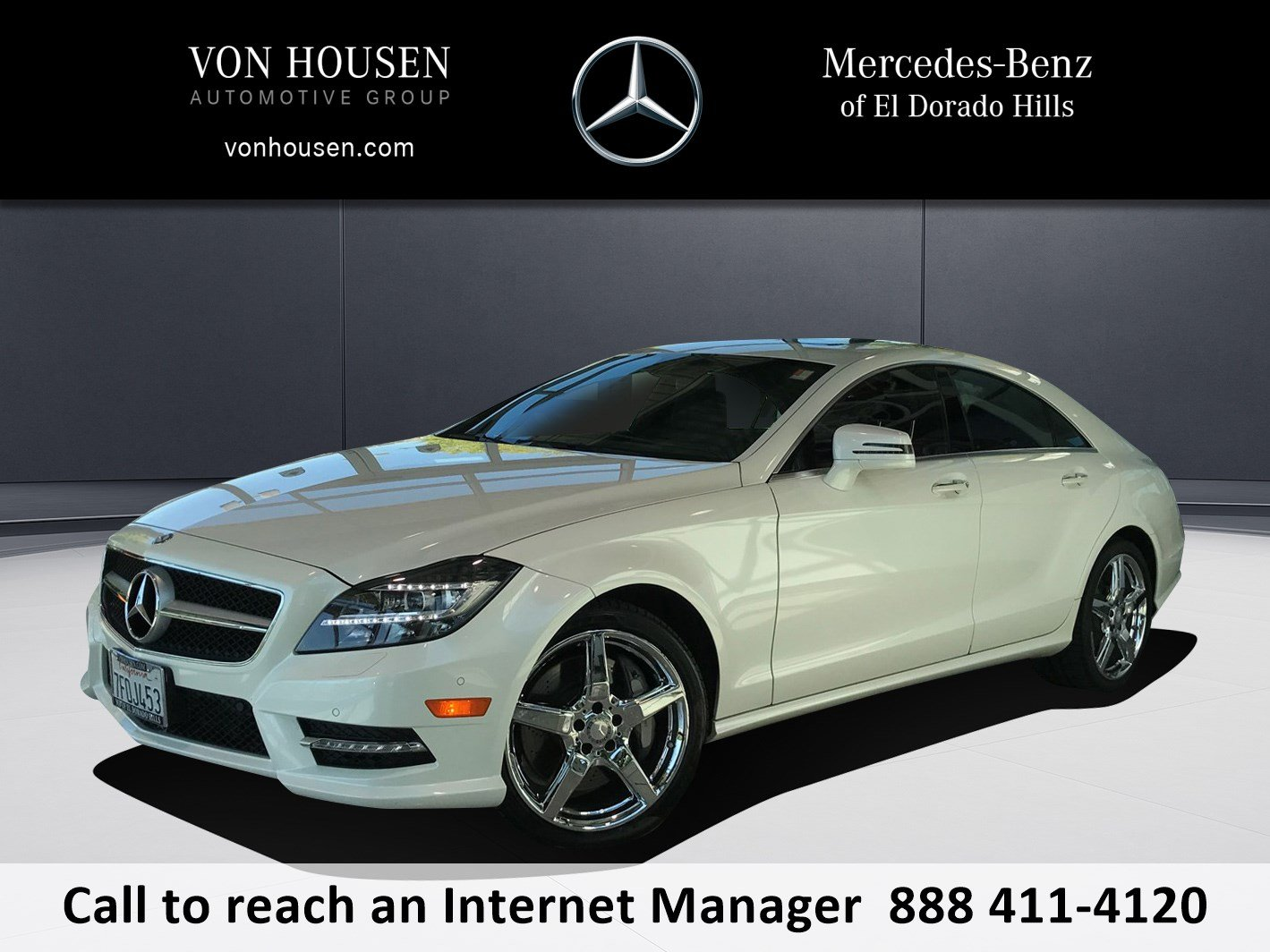 Certified Pre Owned 2014 Mercedes Benz CLS CLS 550