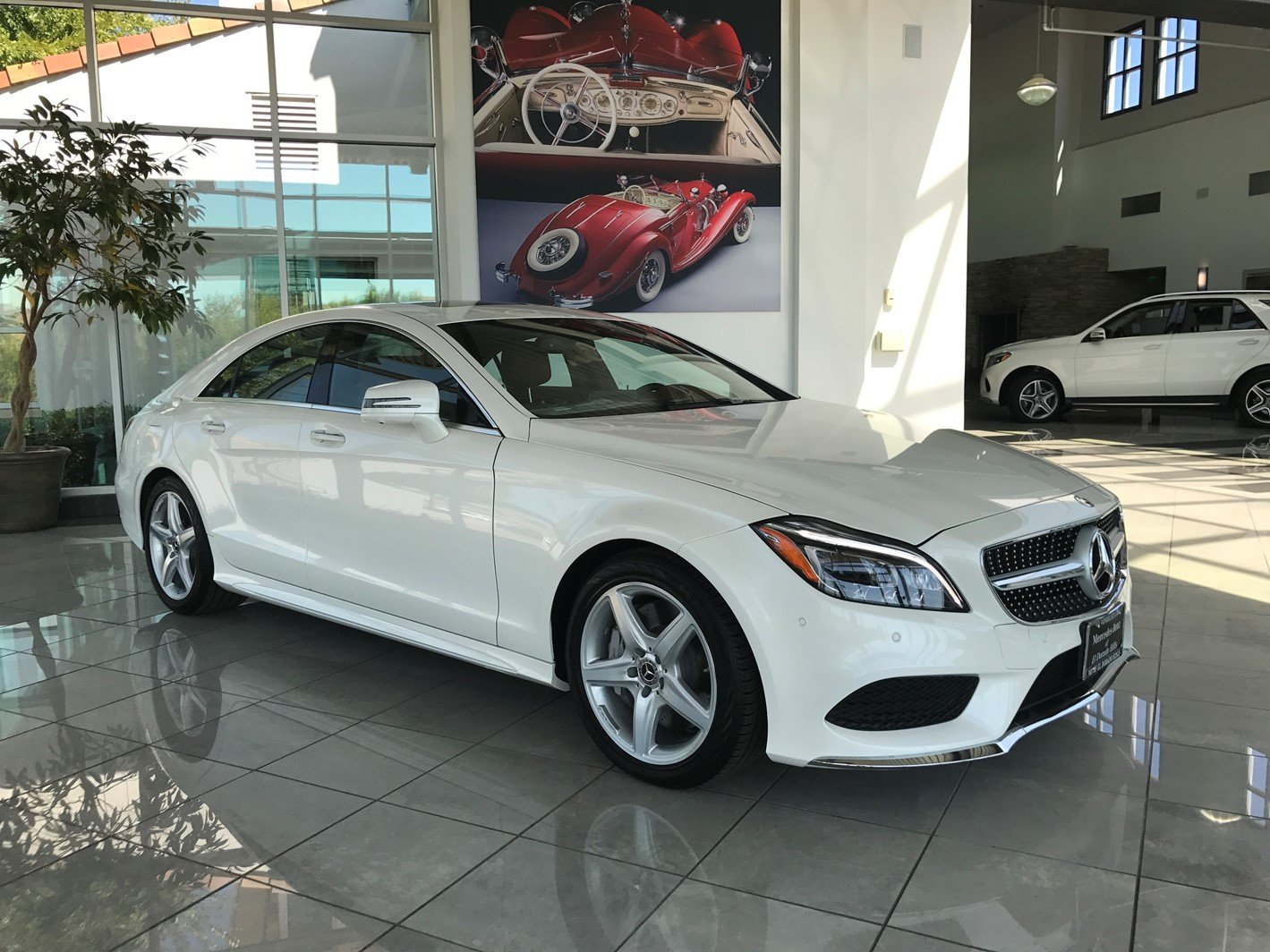 New 2018 Mercedes Benz CLS CLS 550