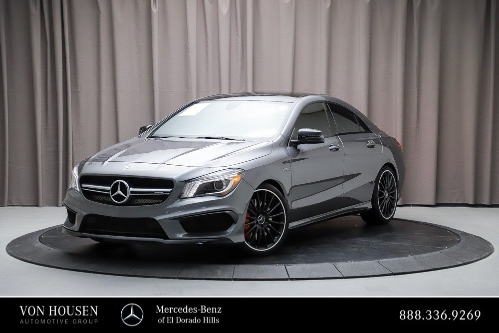 Certified Pre-Owned 2016 Mercedes-Benz CLA AMG® CLA 45 Coupe