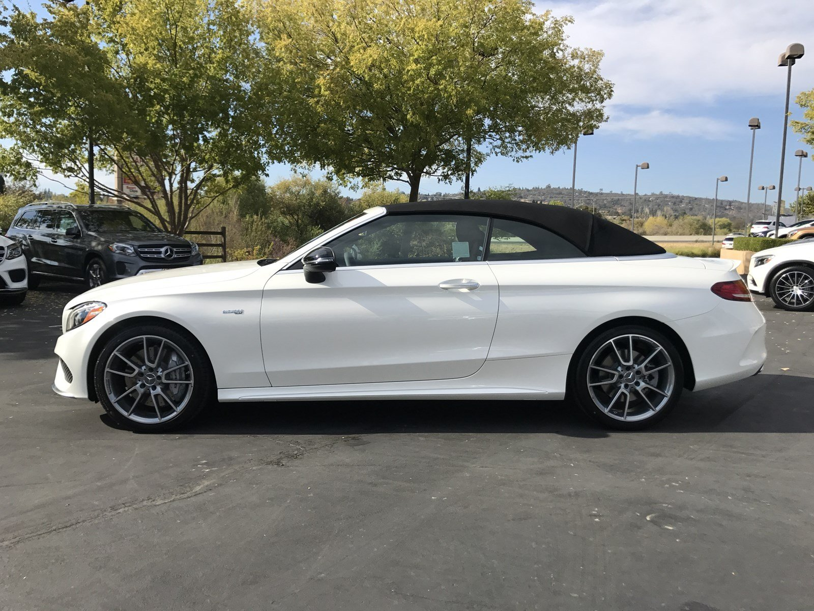 New 2018 mercedes benz c class c 43 amg cabriolet for Mercedes benz b3 service