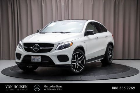 Certified Pre-Owned 2018 Mercedes-Benz GLE AMG® GLE 43 Coupe