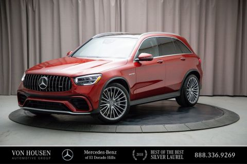 New 2020 Mercedes-Benz GLC AMG® GLC 63 SUV